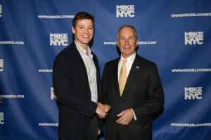 Billy and Mike Bloomberg October 2009